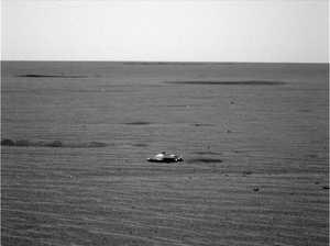 Mars photo of metallic object has internet in a UFO frenzy