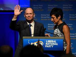 Campbell Newman vows to continue attacks on Turnbull