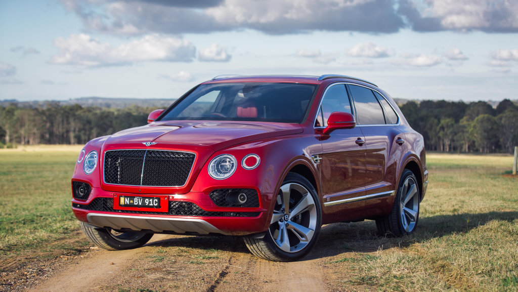 READY FOR ACTION: The $484,000 (drive away as tested) Bentley Bentayga Diesel may be more at home in front of the yacht club or exclusive hotels, but the Brits have ensured this 320kW/900Nm triple-charged V8 SUV can gracefully handle itself on the rough stuff.