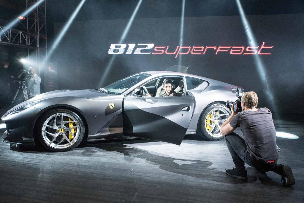 2017 Ferrari 812 Superfast debuts in Melbourne