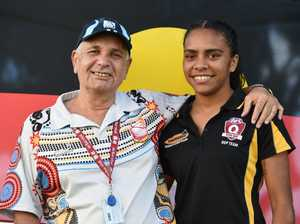 Young and proud Indigenous woman ready for NAIDOC week