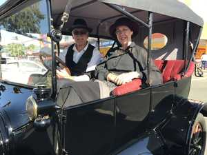 Rare cars in town for Mary Poppins Festival