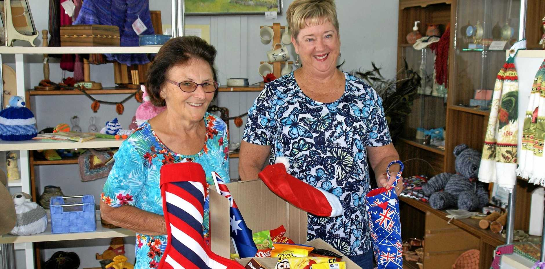 HELPING OUR TROOPS: Maryborough Heritage CraftFest 2017 will be presented by Maryborough Aritsans Inc members.