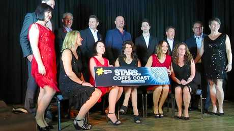 The couples taking part in the Cancer Council fundraiser Dancing With The Stars on the Coffs Coast.