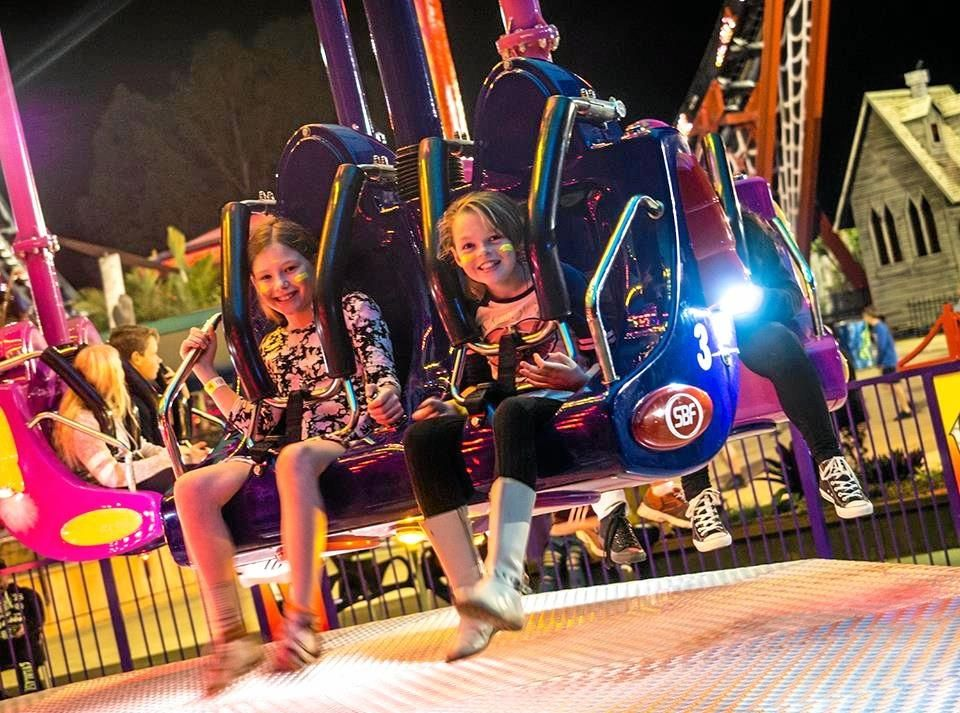 New ride The Wasp is thrilling park-goers at Aussie World.