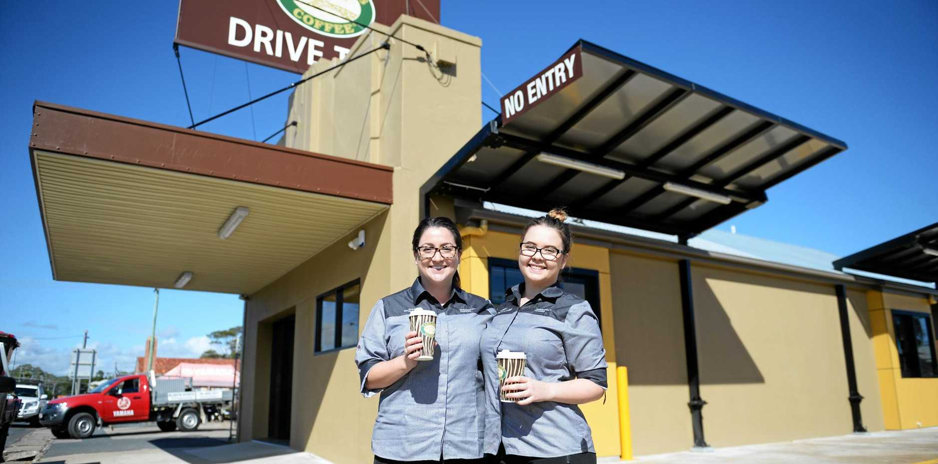 Zarraffa's drive thru coffee is just one of the dozens of businesses for sale in Mackay right now.