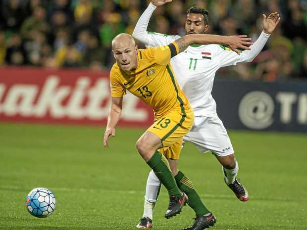 RECORD MAN: Aaron Mooy will be part of Huddersfield's EPL squad for next season after signing a three-year contract.