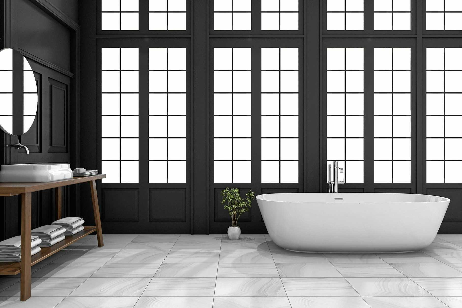 Baths remain a sought-after luxury item in many homes.