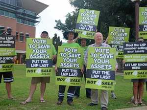 LNP braces for asset sale 'scare campaign'