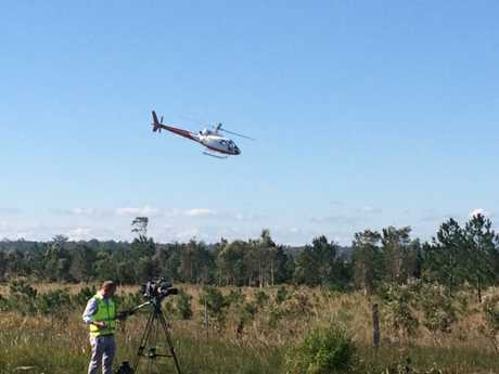 A rescue chopper was tasked to the horror crash.