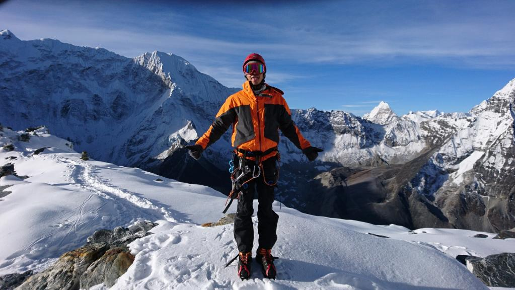 Gold Coast man Chris Evans finished the Everest Extreme Ultra Marathon 60K in 18 hours. He is already planning his next challenge