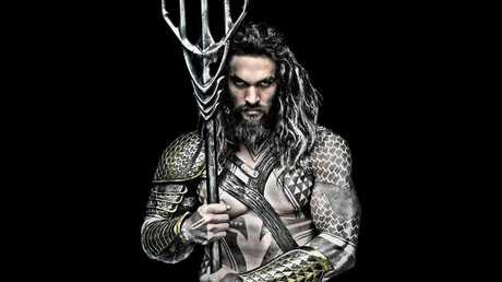 Jason Momoa stars as Aquaman, which is being filmed on the Gold Coast.