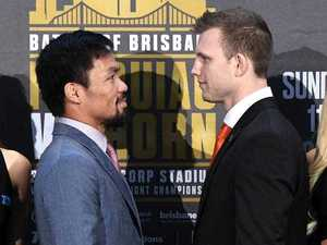 WATCH: Pacquiao and Horn weigh in on the eve of big fight