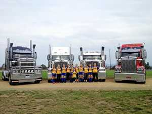 Trucks roll in to help Suns