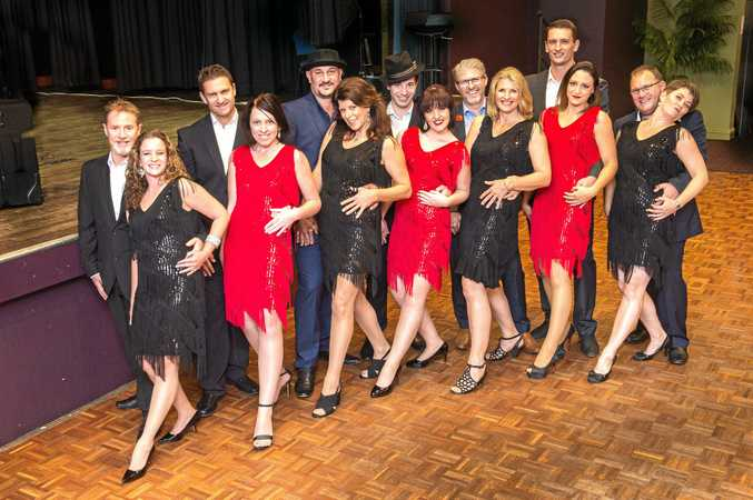 The couples taking part in Dancing with the Stars Coffs Coast.