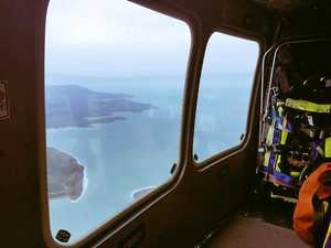 Crew rescued off Hayman Island