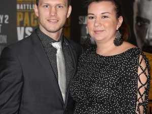 'Hopefully, he'll be my world champion nerd': Horn's wife
