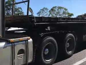 Two-car crash on the Bruce Hwy