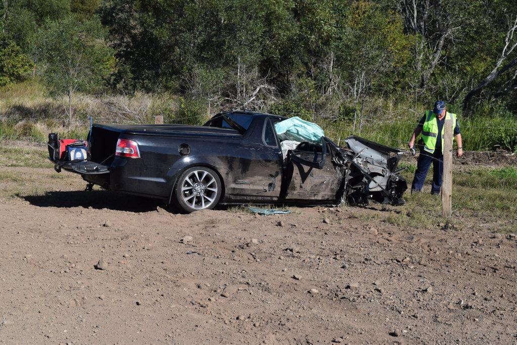 Two car crash at Gunalda.