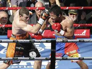 The moment Jeff Horn almost lost it