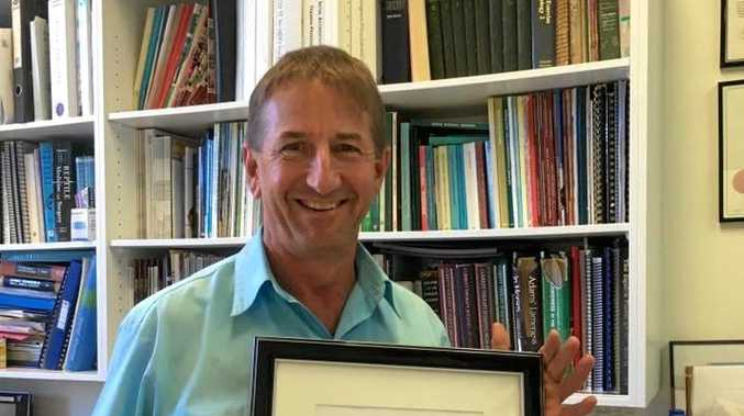 FINE FELLOW: Dr David Johnson has received his profession's top award.