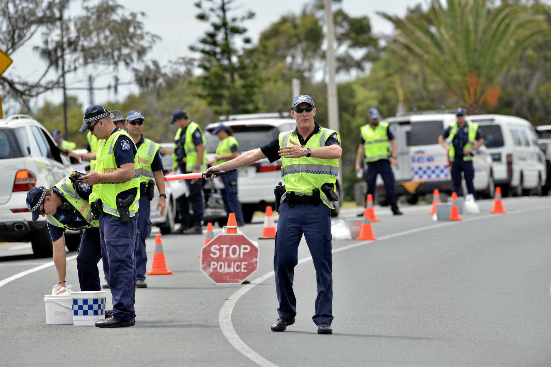 The three-day operation, targeting drink-driving, speeding and other traffic offences, started last Friday.
