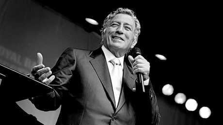 Singing legend Tony Bennett.