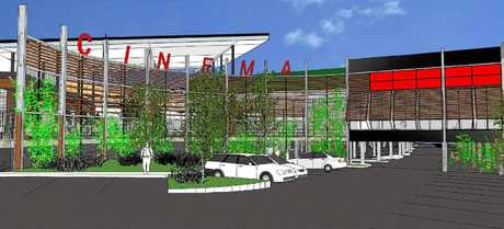 Artist's impressions of the proposed $45 million expansion of Stockland Rockhampton.