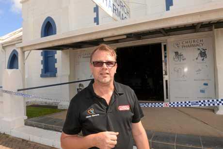 Church Pharmacy owner Brent Byrne.