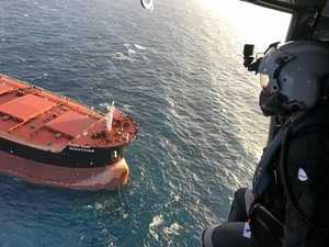 Bulk carrier rescue a drop in the bucket for busy crew