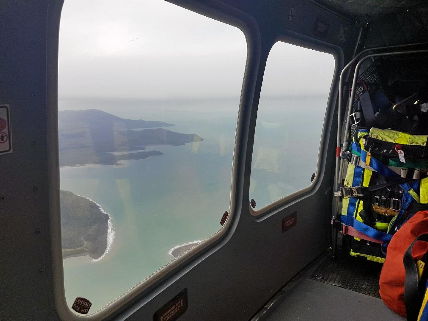 RACQ CQ Rescue en route to the beacon activation.