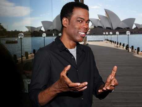 Australian comedian James Smith has defended Chris Rock.
