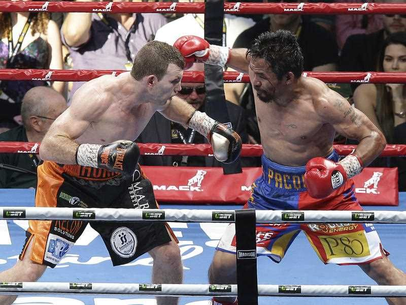 Pacquiao lost his WBO welterweight world title to Horn in a stunning, unanimous points decision in the Sunday afternoon bout billed as the Battle of Brisbane in front of more than 50,000 people.