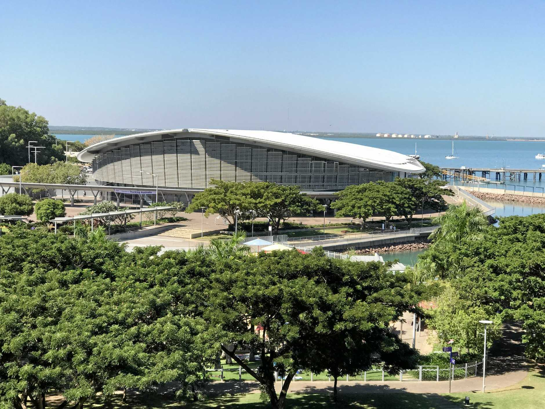HOME TO THE TALK: The Darwin Convention Centre.