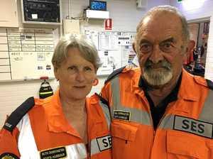 Dedicated couple step back to enjoy retirement