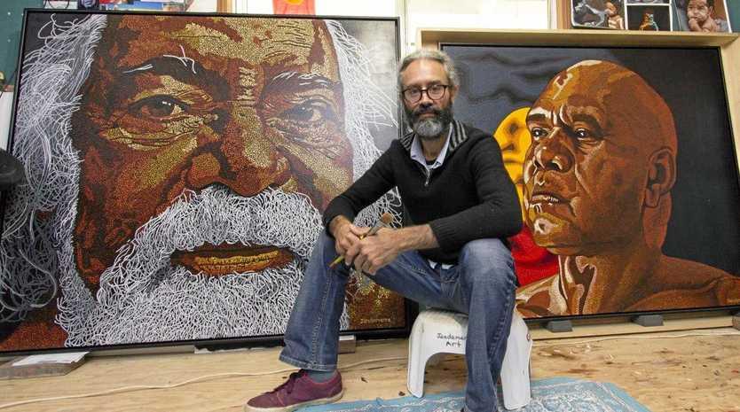 Sunshine Coast artist Jandamarra Cadd has entered a portrait in the Archibald Prize.