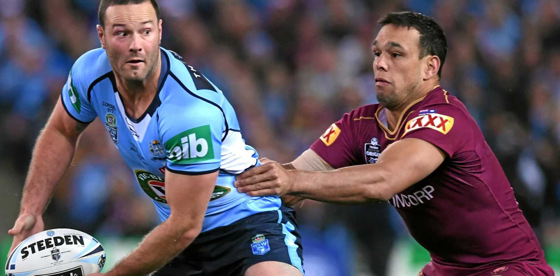 INJURY CONCERN: New South Wales captain Boyd Cordner is battling to overcome a calf injury ahead of Game 3.