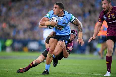 Tyson Frizell has declared himself fit for game three of the State of Origin series despite back and rib complaints.