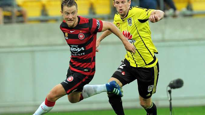 NEW SIGNING: Former West Sydney Wanderers left back Scott Jamieson (left) has joined Melbourne City on a free transfer from Swedish side IFK Goteborg. ,