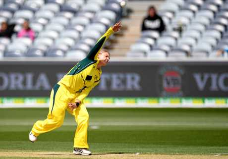 Australian spinner Kristen Beams has 4-79 from two games at the ICC Women's World Cup 2017,
