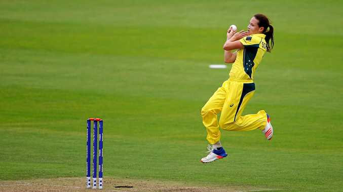 IN FORM: Australian fast bowler Megan Schutt has claimed five wickets at ICC Women's World Cup 2017 so far.