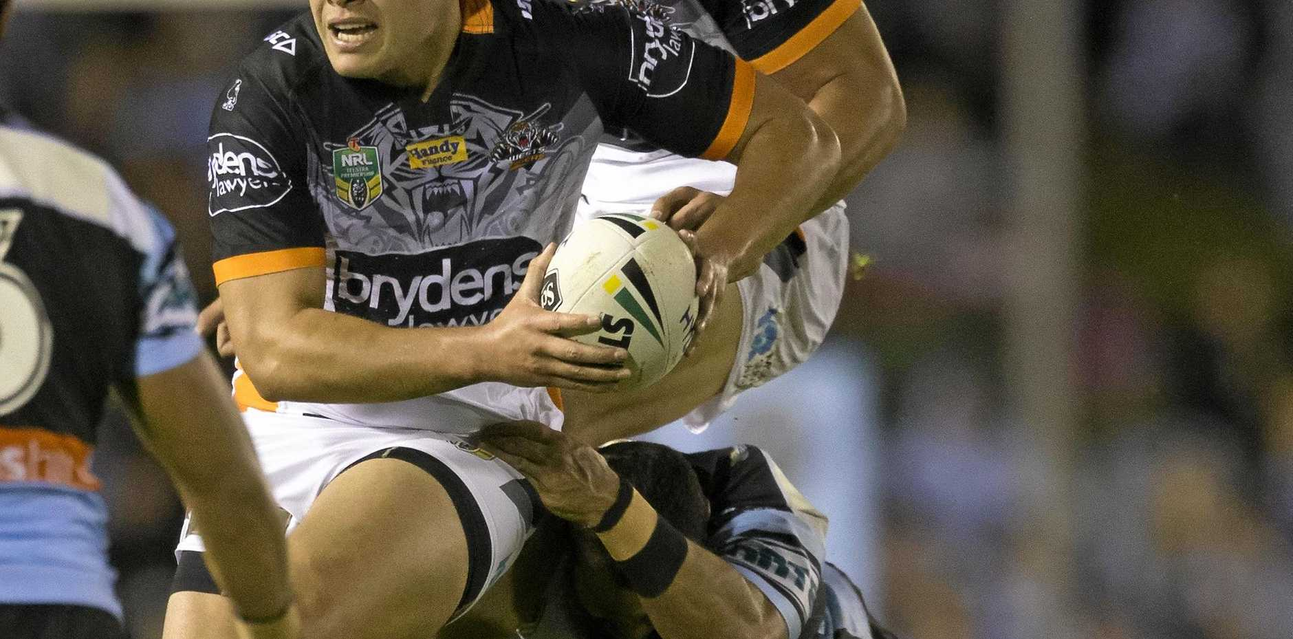 UNCERTAIN FUTURE: Wests Tigers coach Ivan Cleary is unsure where he will elect to play Tuimoala Lolohea next season.