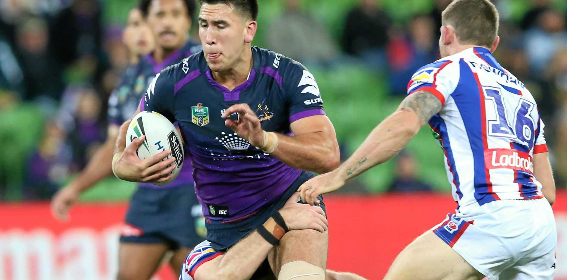 KEY SIGNATURE: Melbourne Storm are expected to announce Nelson Asofa-Solomona has signed a new deal linking him to the club until 2019.