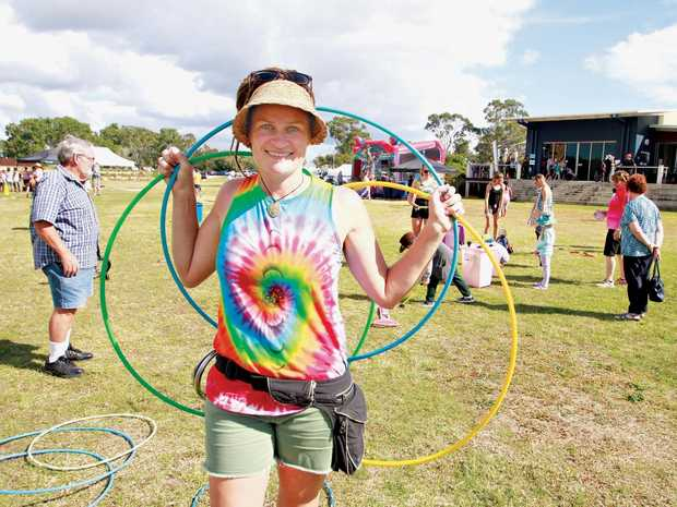 The Little Street Circus has been providing the region with Jacq Hunt from The Little Street Circus in Hervey Bay.