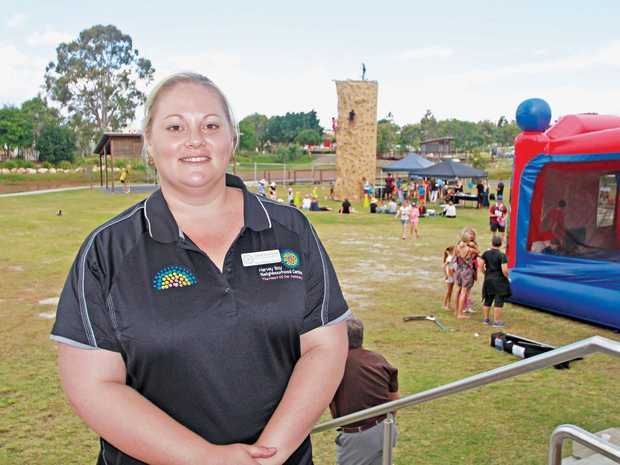 Hervey Bay Neighbourhood Centre's open day last week was a huge success and plans to make it an annual event have already begun. HBNC CEO Tanya Stevenson.