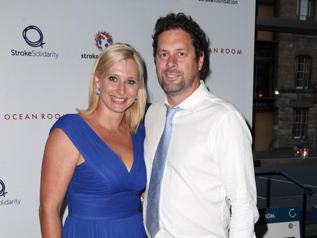 Johanna Griggs and husband Todd Huggins.Source:News Corp Australia