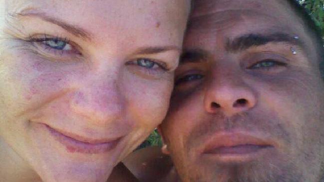 Ingrid Brown and partner Michael Liddell.