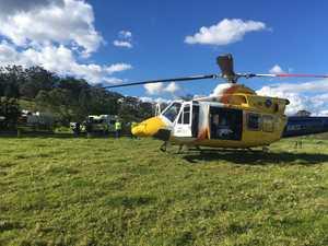 Driver killed, passenger airlifted after horror crash