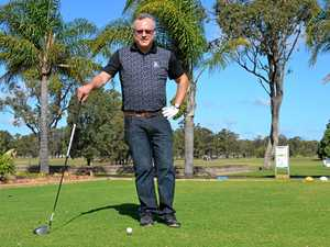 Teeing off in memory of Greg McVeigh this Friday