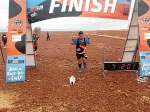 6 days, 150km, 1 desert: Runner faces dunes in 42C heat